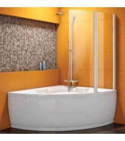 Ванна KOLPA SAN CHAD-S с шторкой SOLE TP 102X140