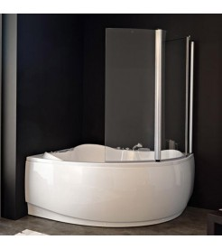 Шторка на ванну Kolpa san Sole TP 143x140 Loco
